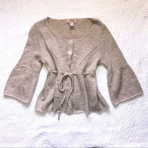 NWOT Fenn Wright Manson Angora Lambswool Sweater M